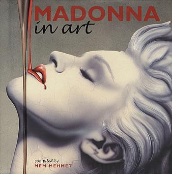Madonna, a múzsa - illusztracio, artdesign -