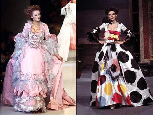 Visszatér a XVIII. századi divat - kiallitas -