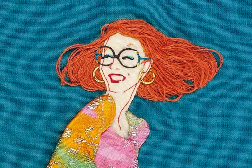 Hímzéssel rajzolt illusztrációk - minden-mas, illusztracio, artdesign -
