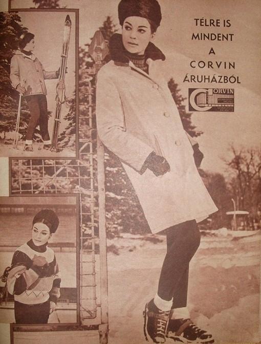 Corvin áruház anno - retro -