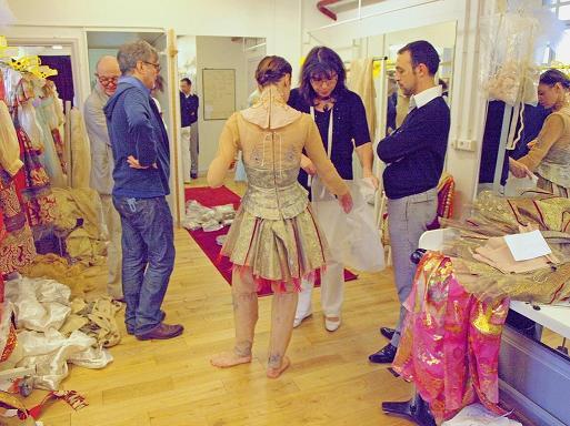 Christian Lacroix balett jelmezeket tervezett - jelmez, ekszer, ajanlo -