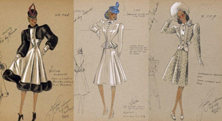 Digitális gyűjtemény divatrajz mániásoknak és tervezőknek -ingyen - kiallitas, illusztracio, ujdonsagok -