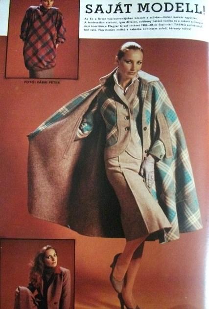 Ez a divat évkönyv 1981 Lantos Piroska fotó: Fábri Péter