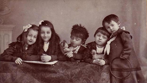 századforduló gyerekdivat