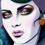 Kelly Thompson, a sminkesből lett illusztrátor