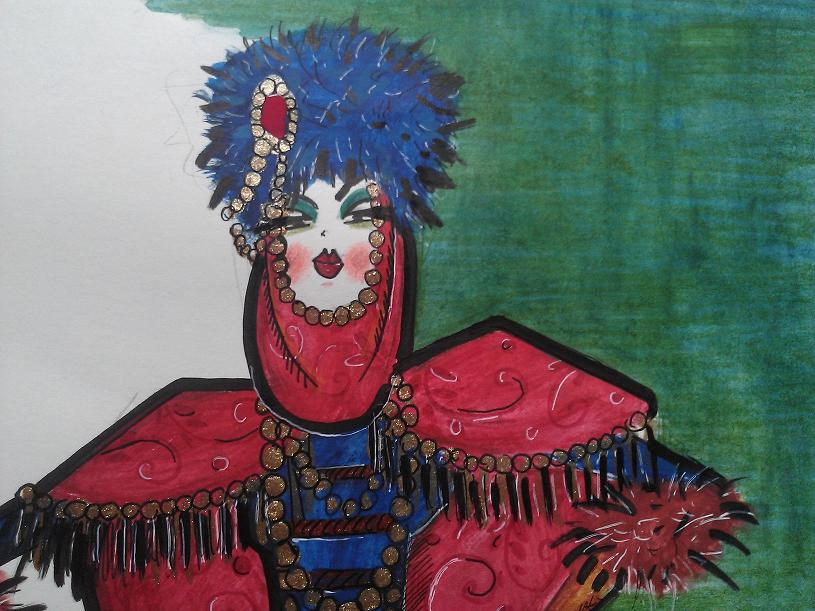 Rajzok Anna Karenina nyomán - minden-mas, illusztracio -