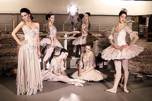 Tütü balett szoknya