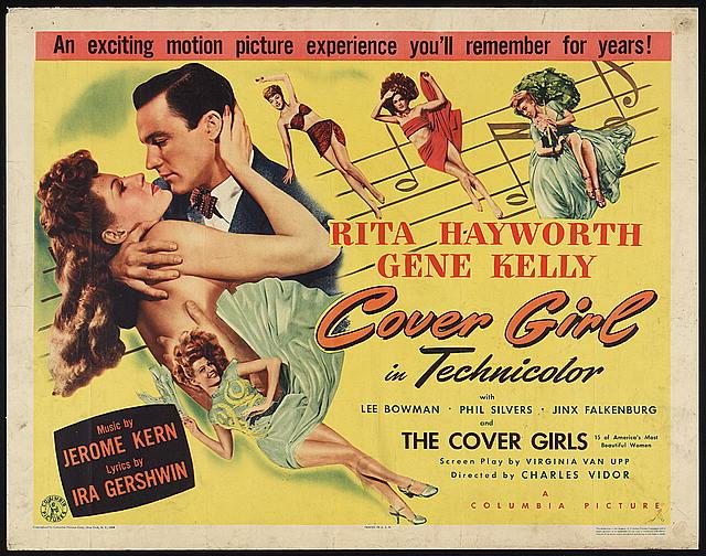 Cover Girl - egy címlaplány élete 1944-ből - filmajánló - minden-mas, jelmeztervezok, jelmez, ujdonsagok -
