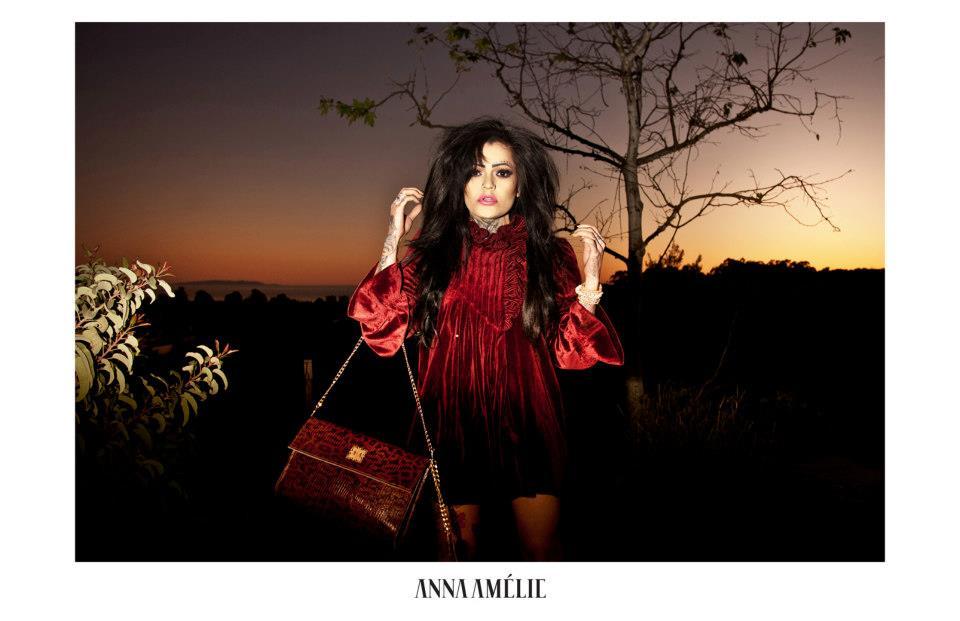 Anna Amélie Los Angelesben vadította meg kollekcióját - trendek-2, minden-mas -