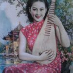 Kínai pin-up girlök a 20-as, 30-as évekből