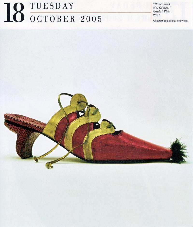 Attalai Zita cipőszobrász kiállítása - gyors-hirek -