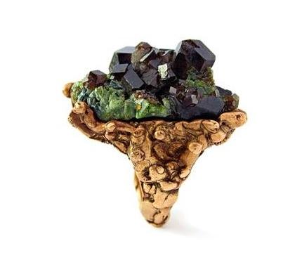 Organikus gyűrűcsodák- Ruszkai jewelry - minden-mas, ekszer -