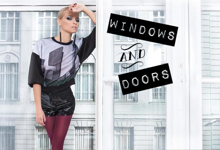 Windows and Doors - editorial feat. Iszak Eszti - minden-mas, editorial -
