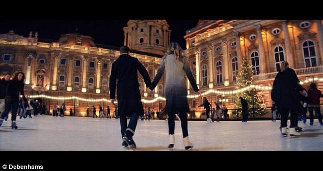 Budapesten forgatta karácsonyi reklámfilmjét a Debenhams - minden-mas, karacsony-2 -