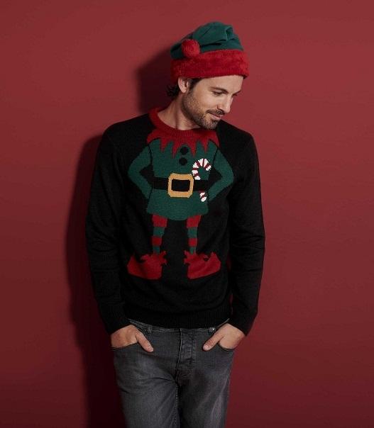 Vicces karácsonyi pulóverek az F&F-nél - trendek-2, oszi-es-teli-divat -