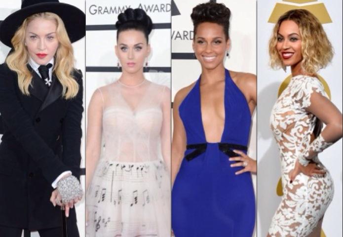 A Grammy díjátadó gála legszebb ruhái 2014 - jelmezeksztarok, sztar-hirek -