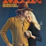 Vicces vintage férfi divatfotók
