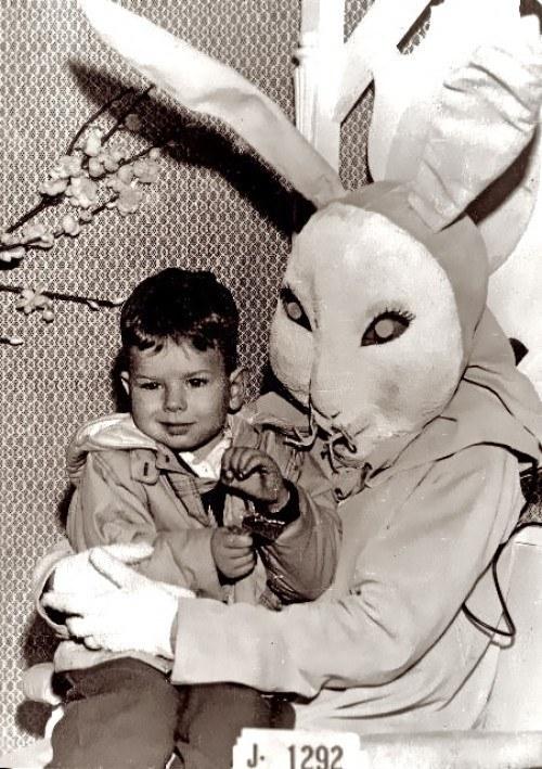 A legőrültebb húsvéti nyuszis retro fotók - pumpkin-light, minden-mas, ujdonsagok -