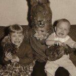 A legőrültebb húsvéti nyuszis retro fotók