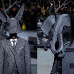 Stephen Jones állati kalapjai Thom Browne kollekciójában
