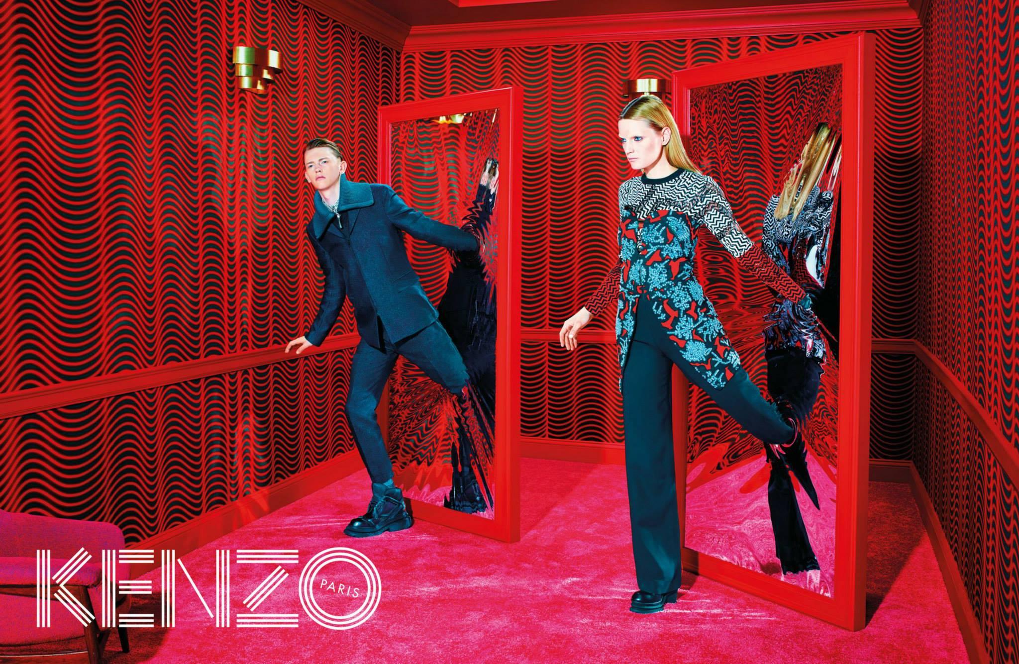David Lynch filmjei ihlették Kenzo kampányát - minden-mas, kampanyok, ujdonsagok -