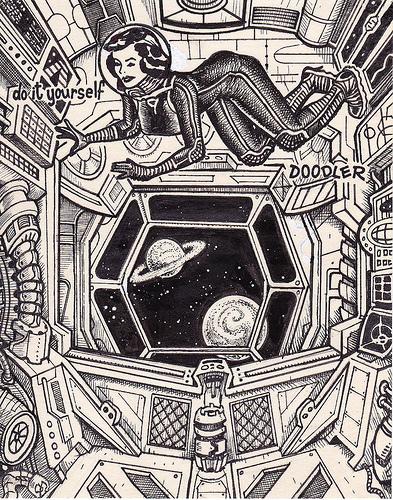 Pin up lányokból szuperhősök- egy grafikus újragondolt ötletei - minden-mas, illusztracio, artdesign -