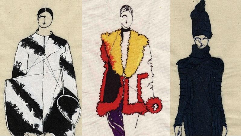 Hímzett trendek- varrógéppel rajzolva - minden-mas, illusztracio, artdesign -
