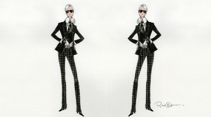 Karl Lagerfeldből Barbie baba lesz - jelmezeksztarok, sztar-hirek, minden-mas -
