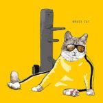 Ikonikus macskák bevonulnak a művészetbe