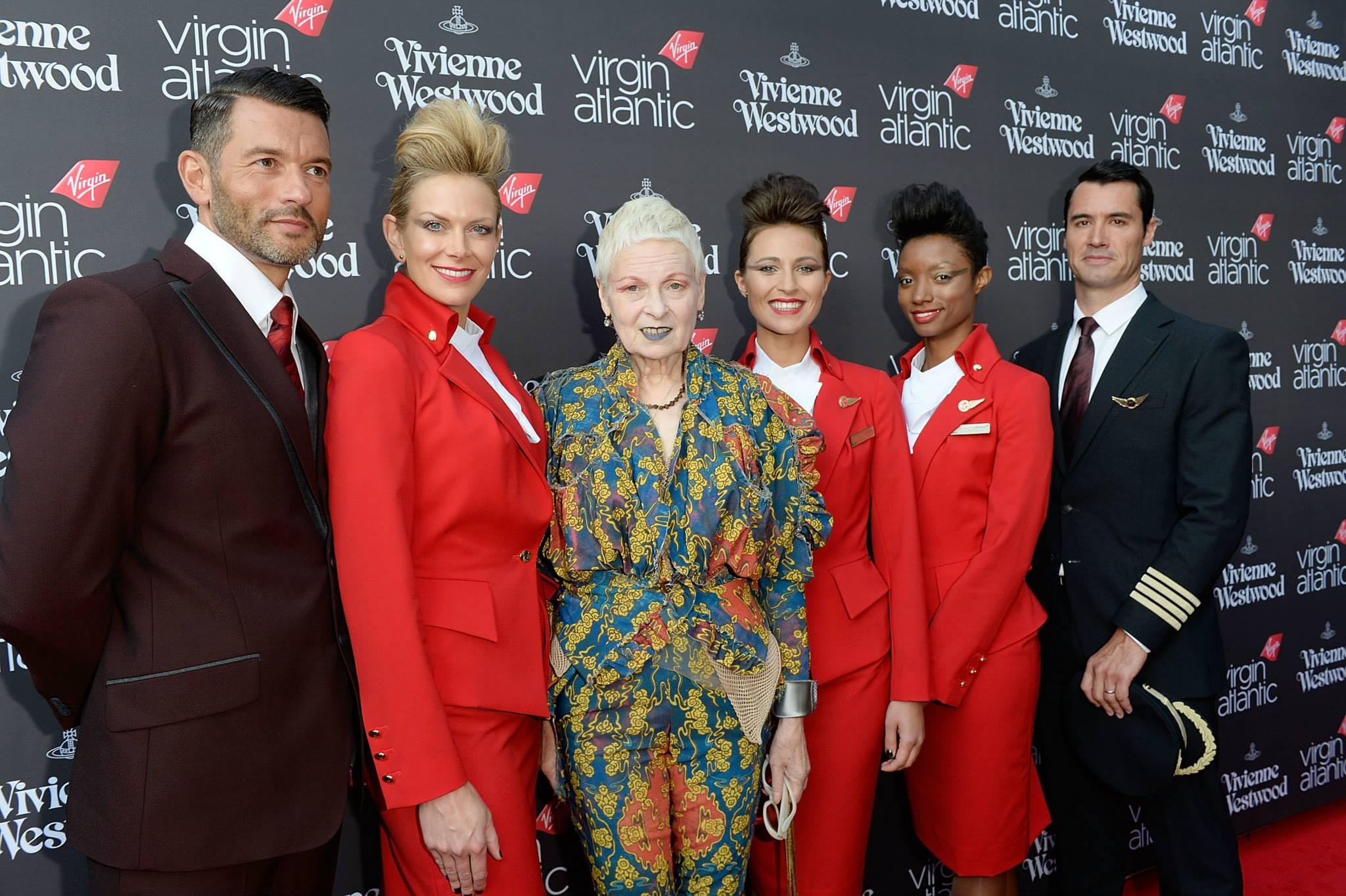 Elstartoltak Vivienne Westwood Virgin stewardessei - minden-mas, ujdonsagok -