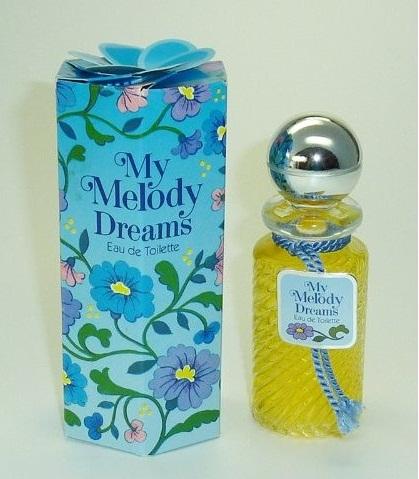 Letűnt idők parfümjei: My Melody Dreams - regi-kozmetikumok, beauty-szepsegapolas -