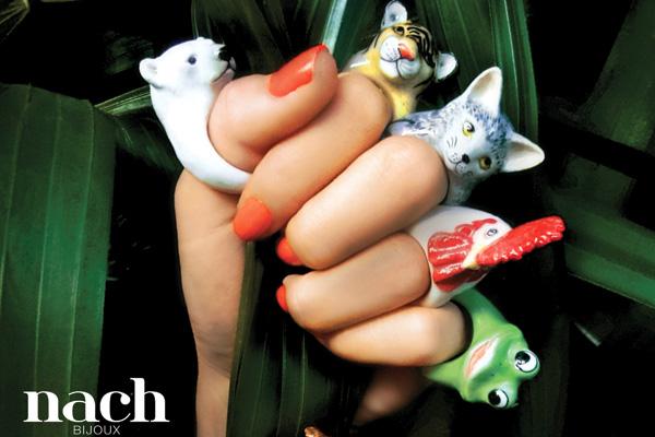 Porcelán macska gyűrűk, és egyéb állatfajták - minden-mas, kiegeszitok-2, ekszer -