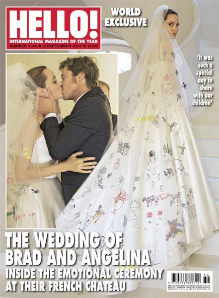 Ilyen volt Angelina Jolie esküvői ruhája - jelmezeksztarok, sztar-hirek, minden-mas -