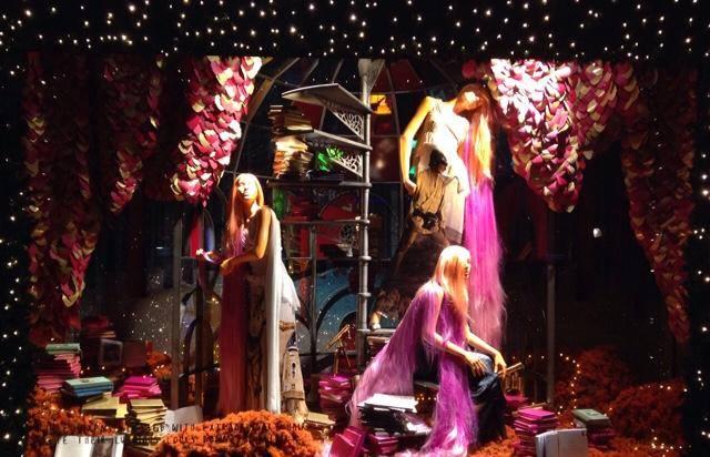 A londoni Selfridges kirakatában már karácsony van - minden-mas, kirakat-2, karacsony-2, artdesign -