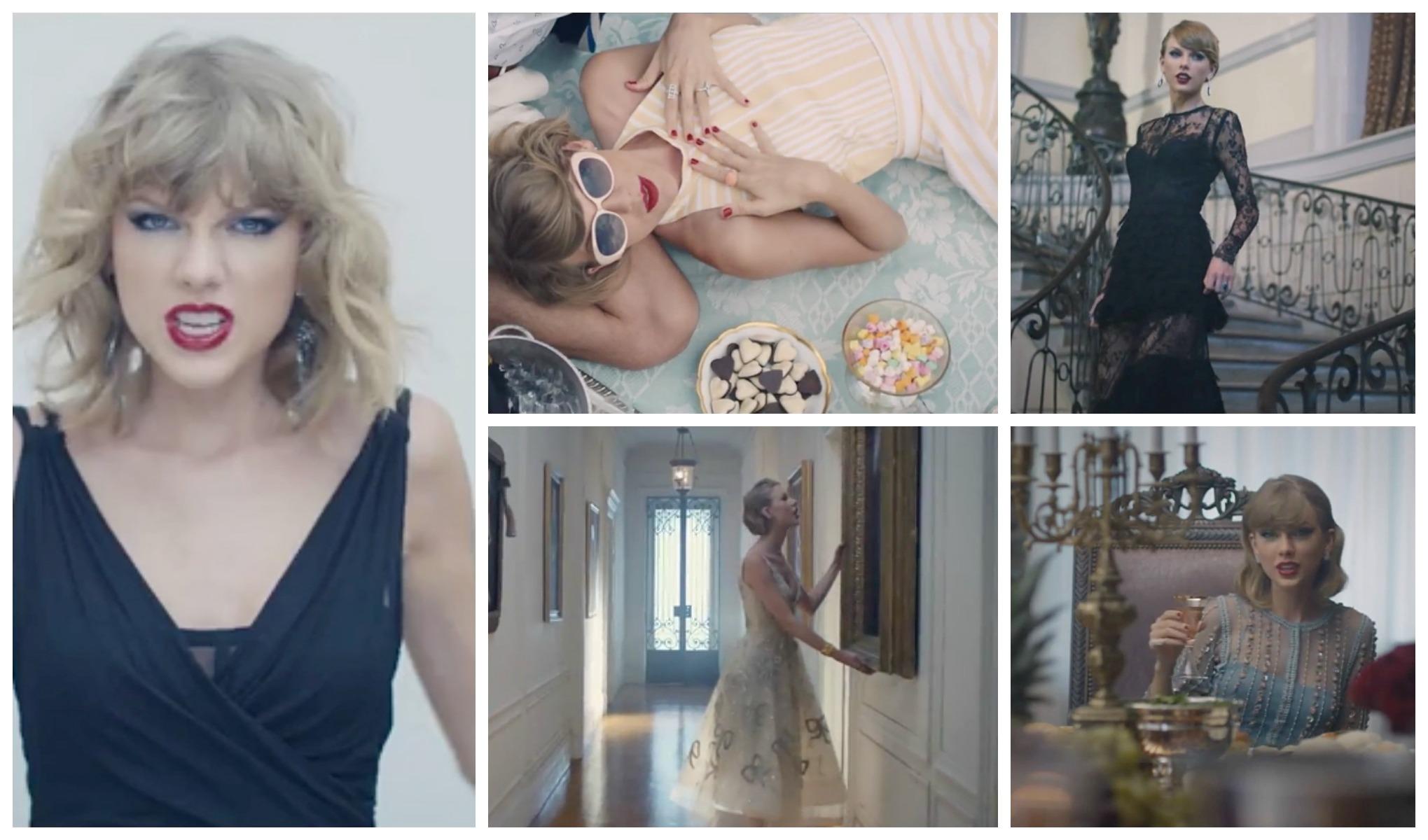 Taylor Swift új klipje valójában egy nagy divatshow - jelmezeksztarok, sztar-hirek, minden-mas -