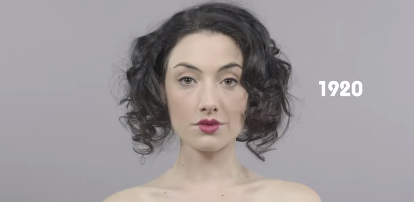 100 years of Beauty in 1 minute- Why this video is incorrect? - beauty-szepsegapolas -
