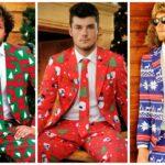 A csúnya karácsonyi pulcsik ideje lejárt! Itt a csúnya öltöny!