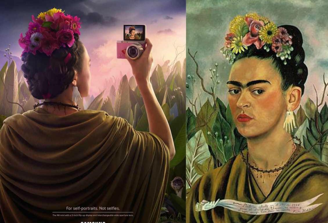 Világhírű portrék más szemszögből a Samsung kampányában - minden-mas, design-2, artdesign -