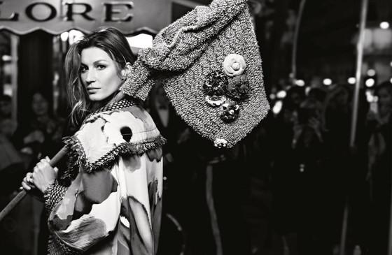 Gisele Bündchen mezitláb pózol a Chanel 2015-ös kampányában - tavaszi-es-nyari-divat, minden-mas, kampanyok, ujdonsagok -