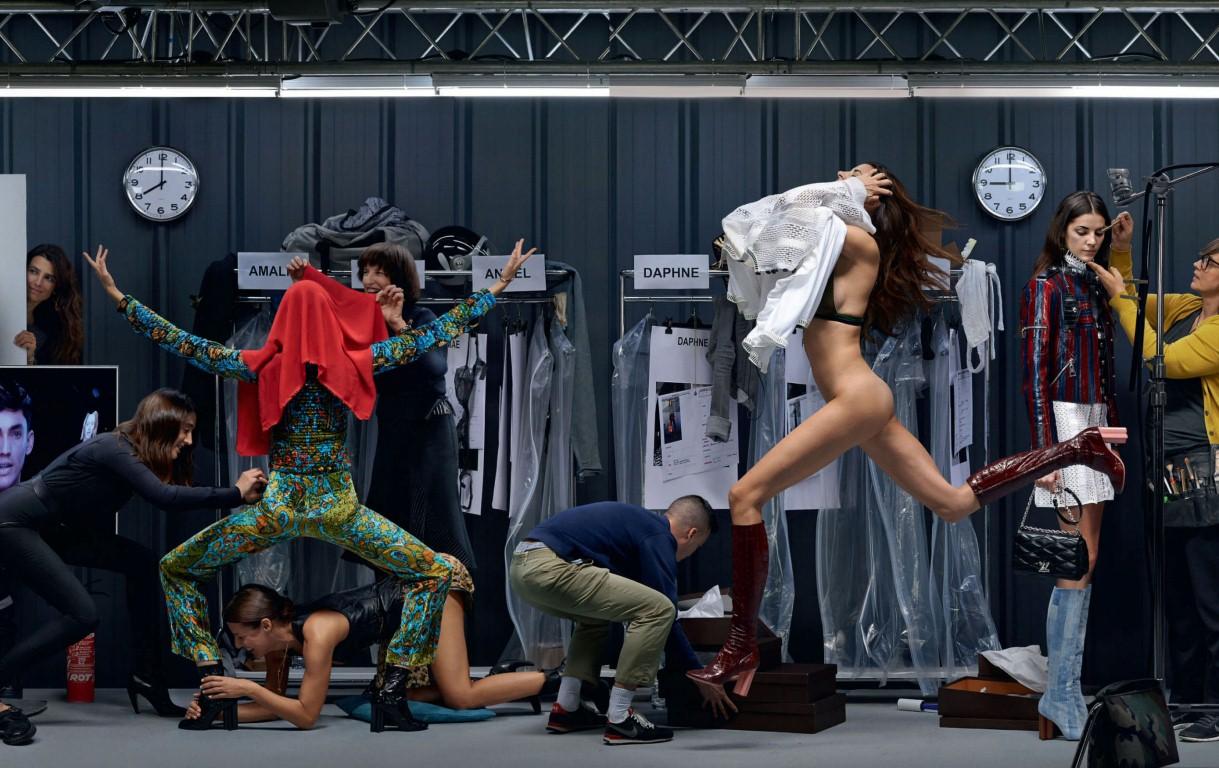 Már meg is van 2015 egyik legzseniálisabb fotósorozata - Showtime Louis Vuitton - tavaszi-es-nyari-divat, minden-mas, ujdonsagok -