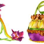 Virágokból kreált táskák és cipők