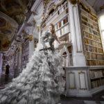 Életre kelt a Szépség és a Szörnyeteg könyvtáras jelenete