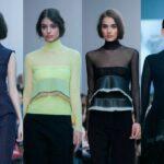 Francia tervezők az Elle Fashion Show-n : Léa Peckre