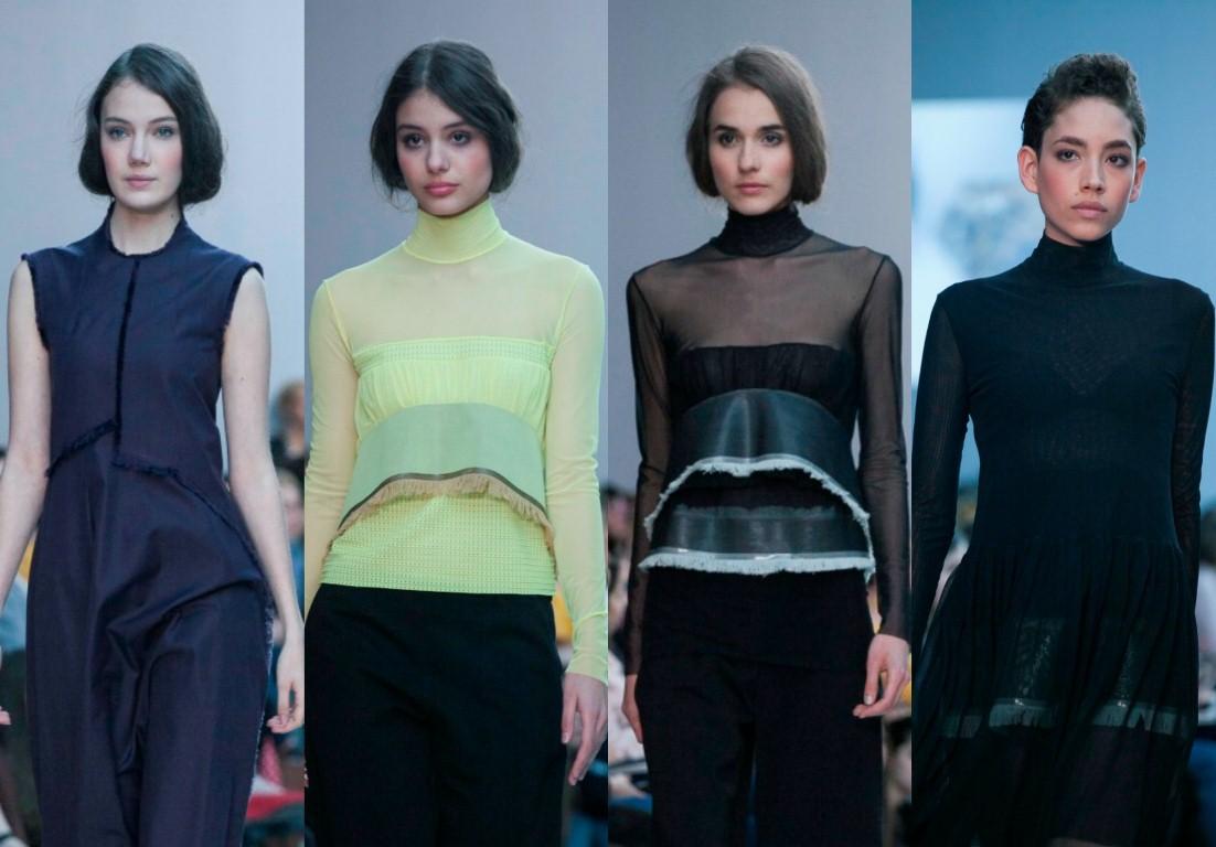 Francia tervezők az Elle Fashion Show-n : Léa Peckre  - oszi-es-teli-divat, minden-mas, ujdonsagok -
