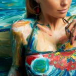 Élő festmények készültek a Desigual kollekciójával