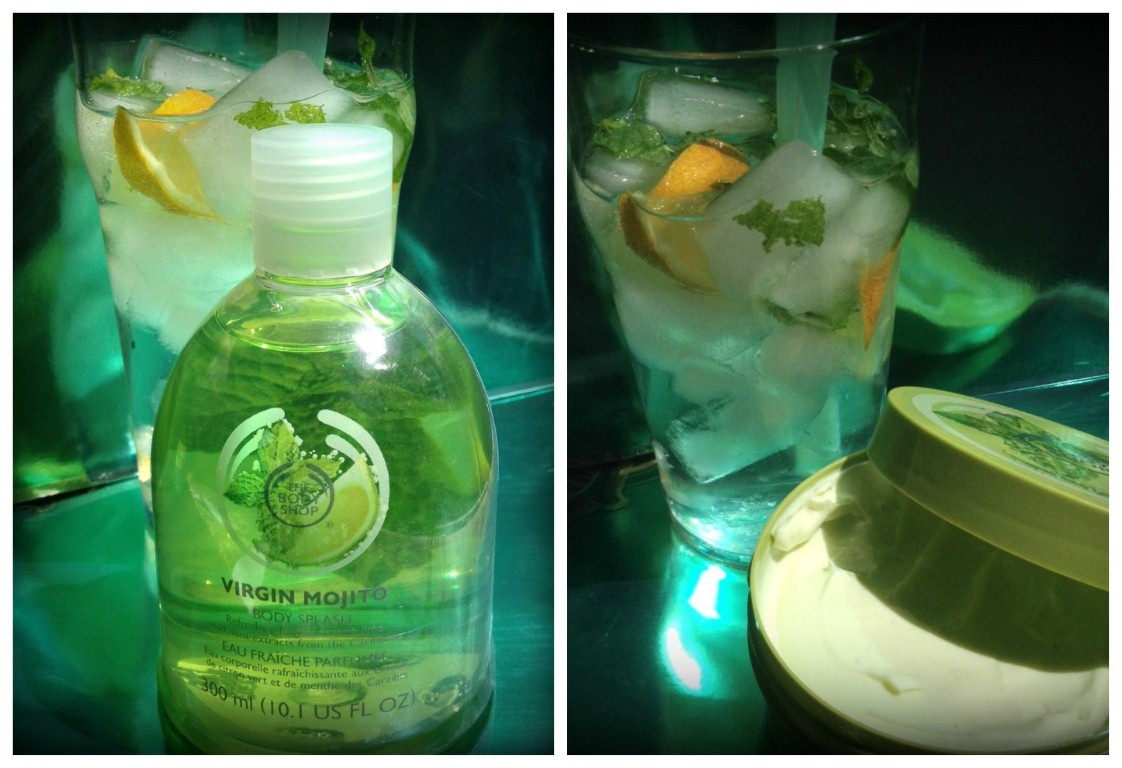 Virgin Mojito a The Body Shop mixereitől - testapolas-2, beauty-szepsegapolas -
