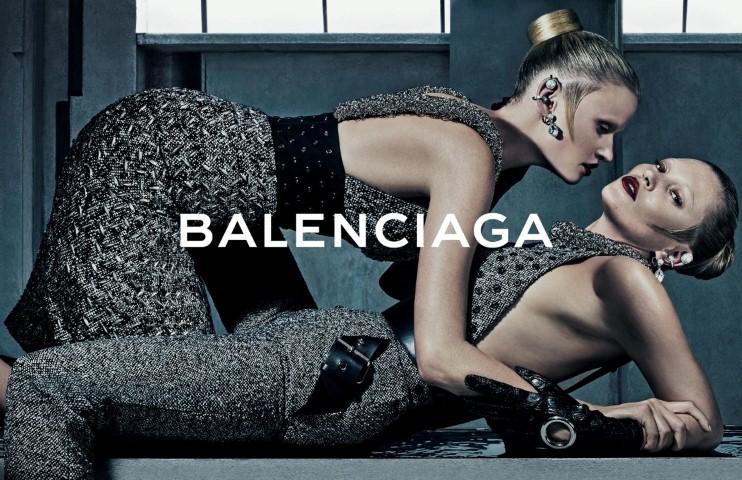 Kate Moss és Lara Stone a Balenciaga őszi kampányában - oszi-es-teli-divat, minden-mas, kampanyok, ujdonsagok -