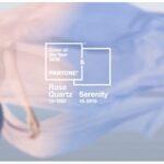 A rózsakvarc és a derűs kék 2016 hivatalos színei