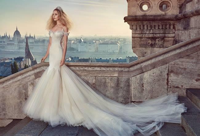 Budapesten fotózták Galia Lahav esküvői ruháit - minden-mas, ujdonsagok -