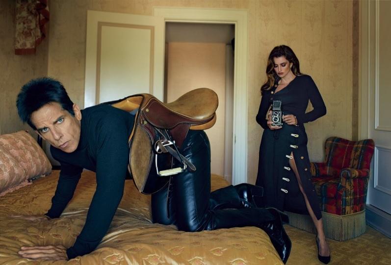 Derek Zoolander újra támad - Annie Leibovitz kamerája előtt pózolt - jelmez, ujdonsagok -